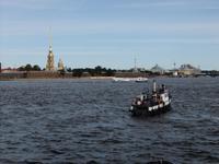 Blick zur Peter-Paul-Festung