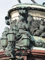 Frau und Kinder von Nikolaus dem I