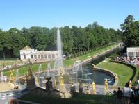 Fontänen im Peterhof