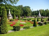 die Gärten vom Peterhof