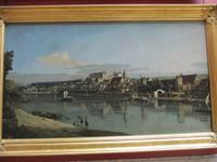 In der Eremitage - Pirna von Canaletto