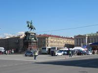 Denkmal des Zaren Nikolaus I. auf dem Isaaksplatz