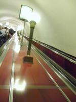 St. Petersburg hat die längsten Rolltreppen in der U-Bahn