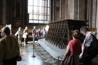 Modelkonstruktion um die Isaak Kathedrale bauen zu können
