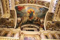 Deckengestaltung der Isaak Kathedrale