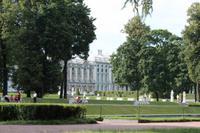 Blick auf dem Katharina Palast