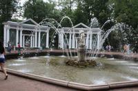 Springbrunnen im Peterhof