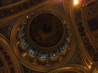 Blick zur Kuppel der Isaaks-Kathedrale
