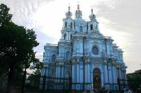 Auferstehungskathedrale im Smol`nyj-Kloster
