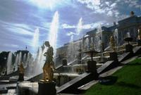 Peterhof - große Kaskade