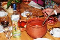 Russischer Abend im Restaurant Podvorie (Bauerhof)