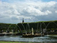 Fontäne im Oberen Garten