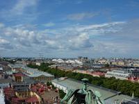 Blick von der Issak-Kathedrale auf St.Petersburg