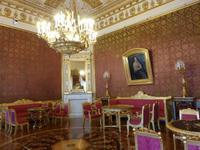 Der rote Salon im Jusupow-Palast