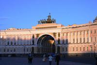 Schlossplatz mit Triumphbogen