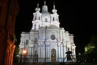 Smolny Kloster bei Nacht