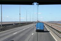 Petersburger Damm nach Kronstadt