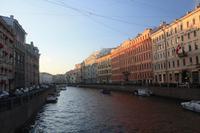 Fluss Moika - Blick vom Newski Prospekt