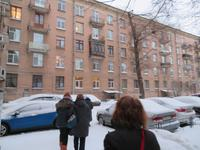 auf dem Weg zu einer Petersburger Familie