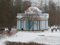 Jekaterinenpalast, im Park