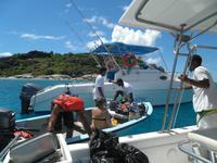 Ausflug auf Sister und Coco - Islands