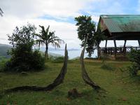 Aussichtspunkt von der Mission Lodge auf Praslin