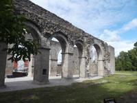 Reste des Romaklosters auf Gotland