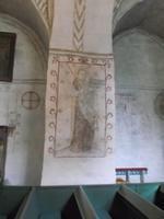 Wandmalereien in der Kirche von Finström