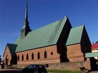 Die Kirche von Mariehamn