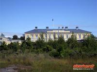 Aus der Zarenzeit stammt die Poststation in Eckerö