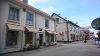 Einkaufsstraße in Mariefred
