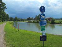 """1574 Der Radweg """"Sverigeleden"""" ist von Herbst bis Frühjahr auch als Reitpfad zu benutzen"""