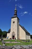 Brahe kyrka auf der Insel Visingsö