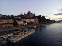 Von der Bruecke in Stockholm