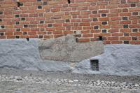 Runensteine in den Grundmauern des Domes zu Strängnäs