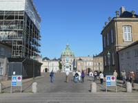 Stadtrundfahrt in Kopenhagen (Spaziergang zum Schlossplatz Amalienborg)