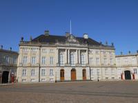 Stadtrundfahrt in Kopenhagen (Schlossplatz Amalienborg mit Gästehaus der Königlichen Familie)