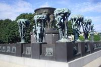 Vigelandpark in Oslo (Brunnengruppe)