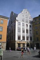 Spaziergang durch die Altstadt von Stockholm (Stortorget)