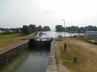 Schleusen von Berg (Göta-Kanal)