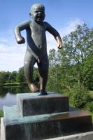 Vigelandpark in Oslo (