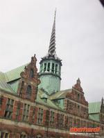 Der Börsenturm in Kopenhagen