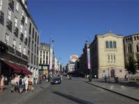 Die Karl Johanns Gate in Oslo