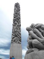 Stele im Vigelandpark