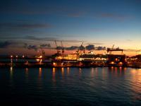 Hafen Ancona am Morgen