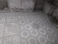 Pula, Fußbodenmosaik einer ehemaligen römischen Villa