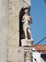 Detail am Kirchplatz von Senj