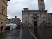 Ascoli Piceno, Kathedralenplatz mit Kathedrale und Taufkapelle