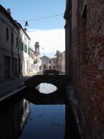 Comacchio, Altstadt