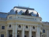 Bratislava: Rundgang: Altstadt: Slowakisches Nationaltheater